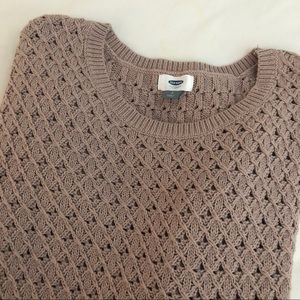 Old Navy | Loose Knitted Crewneck Sweater